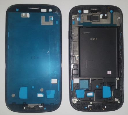 Samsung i9300 Galaxy S3 kryt přední černá