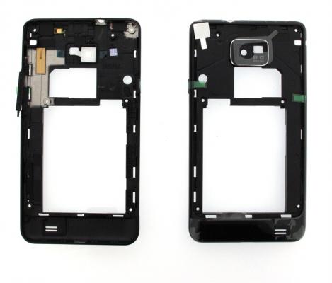 Samsung i9100 Galaxy S2 kryt střední černá