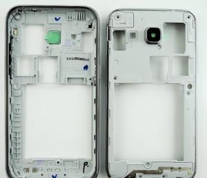 Samsung G360H Galaxy Core Prime DUAL SIM kryt střední stříbrná