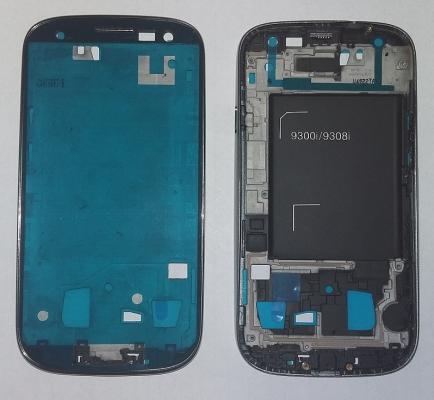 Samsung i9301 Galaxy S3 NEO kryt přední stříbrná