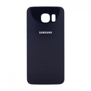 Samsung G920 Galaxy S6 kryt baterie + lepítka černá (dark blue)
