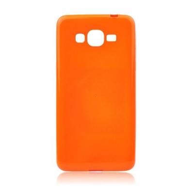 Pouzdro JELLY CASE FLASH Samsung G900 Galaxy S5 oranžová fluo