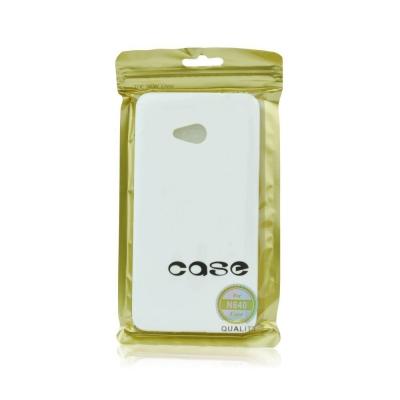 Pouzdro JELLY CASE FLASH Sony Xperia E4 E2105 bílá
