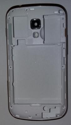 Samsung S7582 kryt střední stříbrná