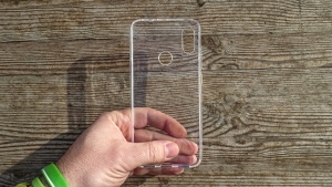 Pouzdro Back Case Ultra Slim 0,3mm Huawei Y6 (2017), Y5 (2017) transparentní