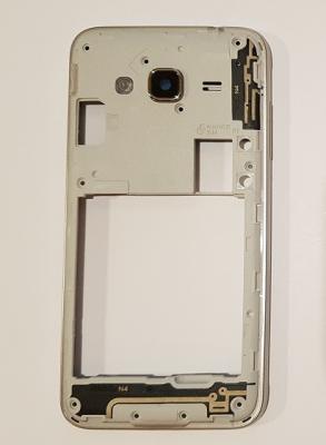 Samsung J320 Galaxy J3 (2016) kryt střední ver. 1 SIM modrá / černá