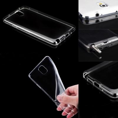 Pouzdro Back Case Ultra Slim 0,3mm Samsung J100 Galaxy J1 transparentní