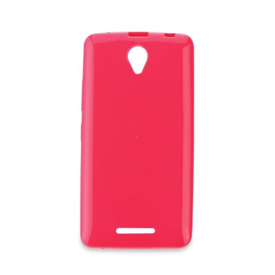 Pouzdro JELLY CASE BRIGHT 0,3mm Huawei P8 růžová