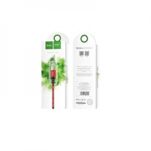 Datový kabel HOCO X14 micro USB barva červená - 2 metry