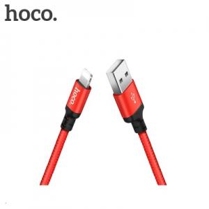 Datový kabel HOCO X14 iPhone Lightning barva červená - 2 metry