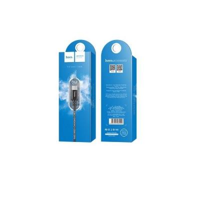Datový kabel HOCO X14 micro USB TYP-C barva černá - 2 metry
