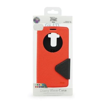 Pouzdro FANCY Diary ROAR LG G4 H815 barva červená