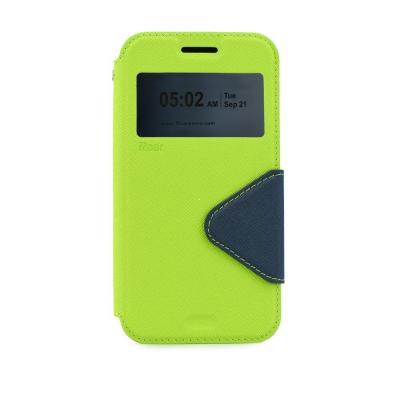 Pouzdro FANCY Diary ROAR Sony Xperia Z5 E6653 barva limetka