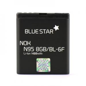 Baterie BlueStar Nokia N95 8GB, 6290, N78, N79 (BL-6F) 1400mAh Li-ion