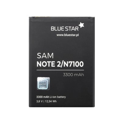Baterie BlueStar Samsung N7100 Galaxy Note 2 EB595675LU 3300mAh Li-ion