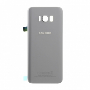 Samsung G955 Galaxy S8 PLUS kryt baterie + lepítka stříbrná