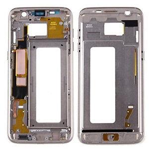 Samsung G935 Galaxy S7 Edge kryt střední originál + boční tlačítka a flexy tlačítek zlatá