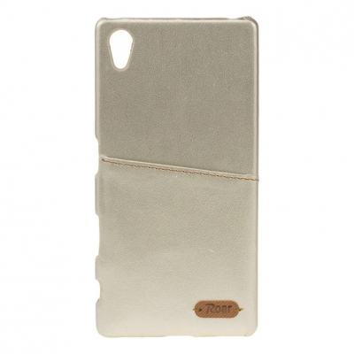 Pouzdro ROAR Noble Skin Samsung G900 Galaxy S5 barva zlatá