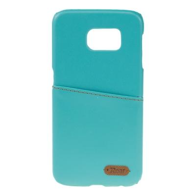 Pouzdro ROAR Noble Skin Samsung G925 Galaxy S6 EDGE barva světle modrá