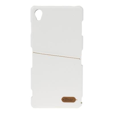 Pouzdro ROAR Noble Skin Sony Xperia Z5 E6653 barva bílá