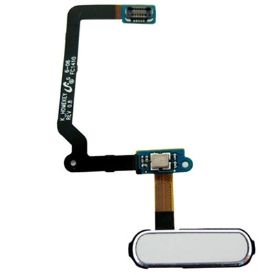 Samsung G900 Galaxy S5 flex pásek s HOME Button bílá