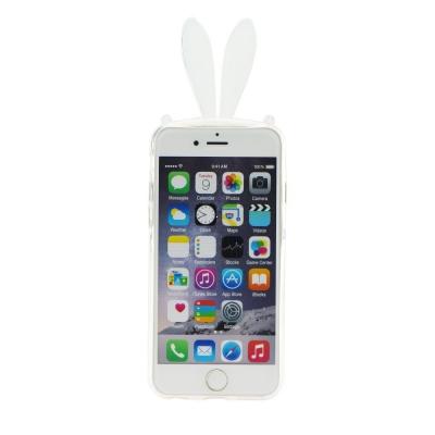 Pouzdro 3D Case iPhone 6, 6S 4,7 Uši transparentní