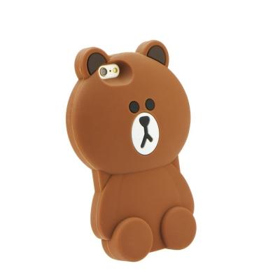 Pouzdro 3D Case Samsung G360, G361 Galaxy Core Prime Medvěd hnědý