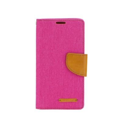 Pouzdro CANVAS Fancy Diary Huawei MATE 8 růžová