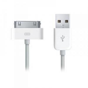 Datový kabel iPhone 3G, 3GS, 4, 4S barva bílá