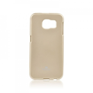 Pouzdro MERCURY Jelly Case Huawei Y7 zlatá