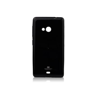 Pouzdro MERCURY Jelly Case Samsung J100 Galaxy J1 černá