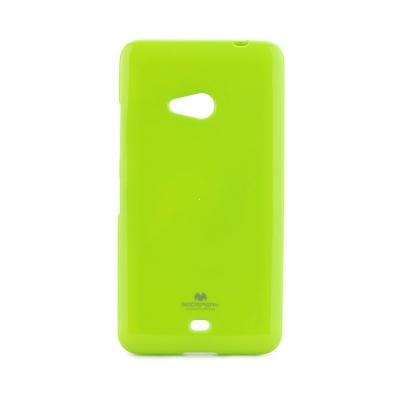 Pouzdro MERCURY Jelly Case Samsung J100 Galaxy J1 limetka