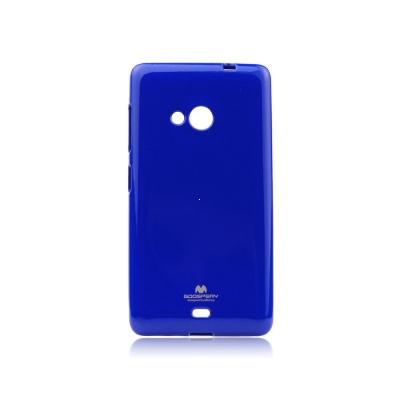 Pouzdro MERCURY Jelly Case Samsung J100 Galaxy J1 tmavě modrá