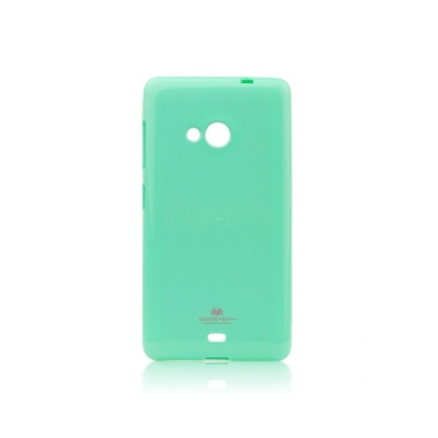 Pouzdro MERCURY Jelly Case Samsung A520 Galaxy A5 (2017) mint