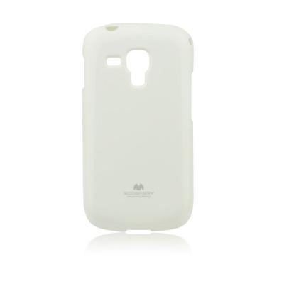 Pouzdro MERCURY Jelly Case Samsung G900 Galaxy S5 bílá