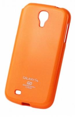 Pouzdro MERCURY Jelly Case Samsung G925 Galaxy S6 Edge oranžová