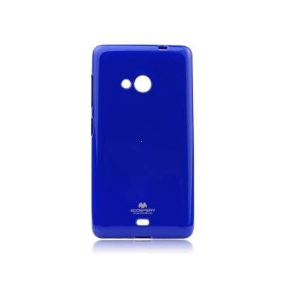 Pouzdro MERCURY Jelly Case Samsung G955 Galaxy S8 PLUS tmavě modrá