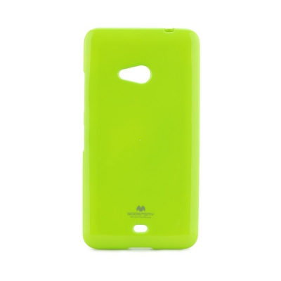 Pouzdro MERCURY Jelly Case iPhone 5, 5S, SE limetka