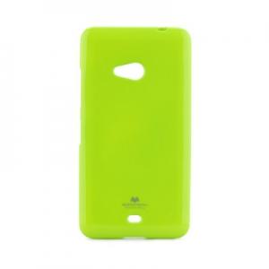 Pouzdro MERCURY Jelly Case iPhone 5, 5S, SE limetka