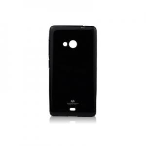 Pouzdro MERCURY Jelly Case iPhone 5, 5S, SE černá