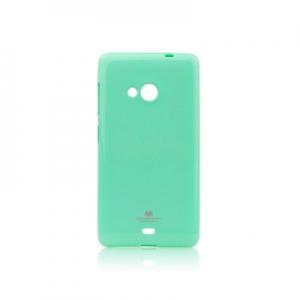 Pouzdro MERCURY Jelly Case iPhone 5, 5S, SE mint