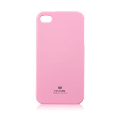 Pouzdro MERCURY Jelly Case iPhone X, XS (5,8) světle růžová
