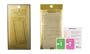 Tvrzené Sklo 9H Samsung A730 Galaxy A8 PLUS (2018) GoldGlass