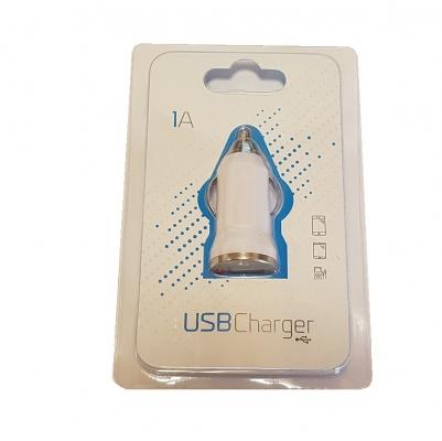 CL adaptér BlueStar USB 1x 1A barva bílá