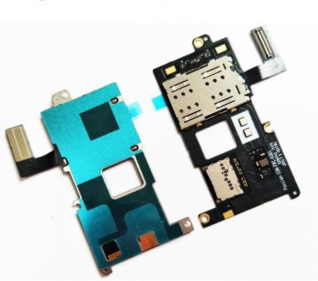 Lenovo VIBE P1 flex pásek SIM / MSD card reader