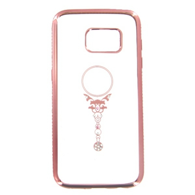 Pouzdro Bling Rosegold Collection Samsung G930 Galaxy S7 beauty