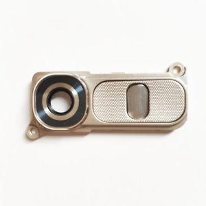 Sklíčko zadní kamery LG G4 H815 + tlačítko zapínání a hlasitosti barva zlatá