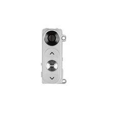 Sklíčko zadní kamery LG G3 D855 + tlačítko zapínání a hlasitosti bílá