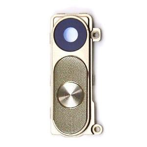 Sklíčko zadní kamery LG G3 D855 + tlačítko zapínání a hlasitosti zlatá