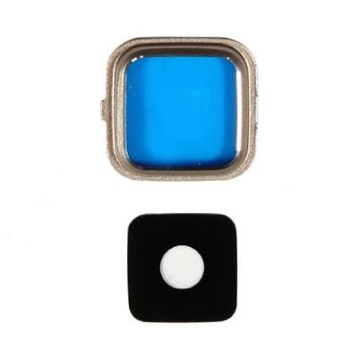 Sklíčko zadní kamery Samsung N910 NOTE 4 zlatá